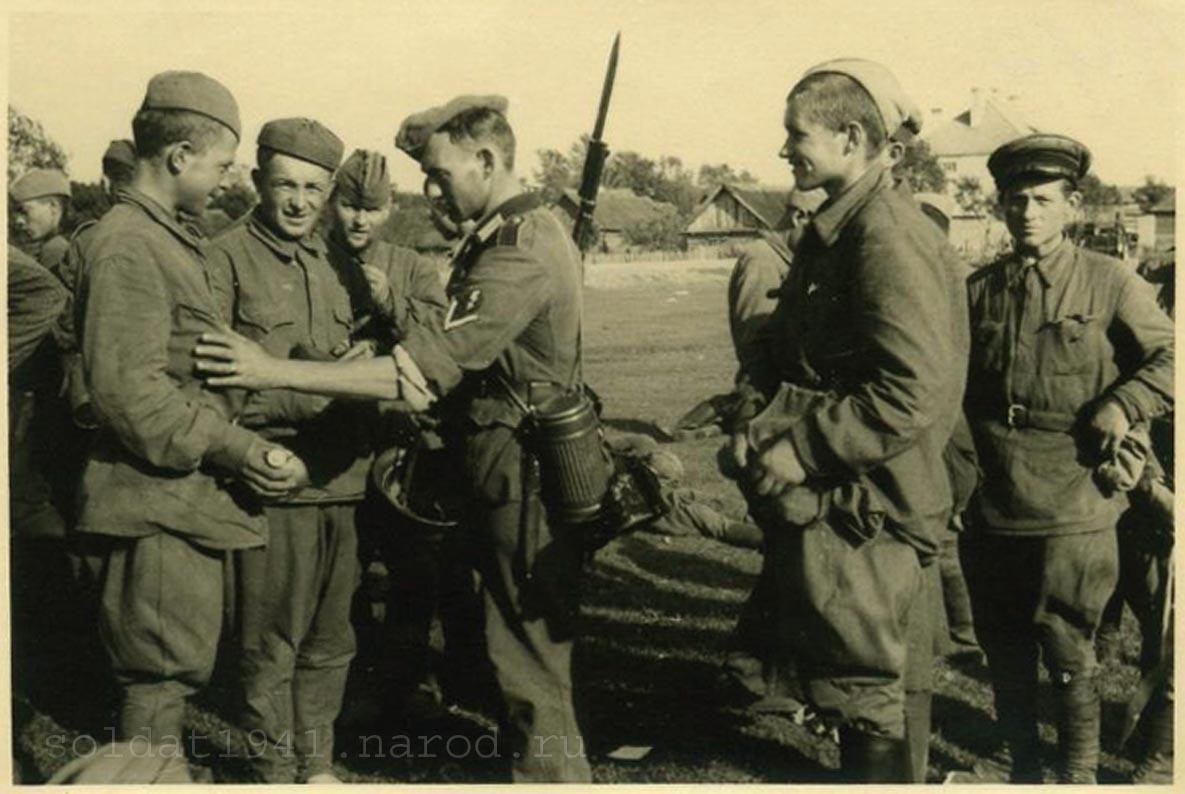 Военнопленные и павшие солдаты ркка